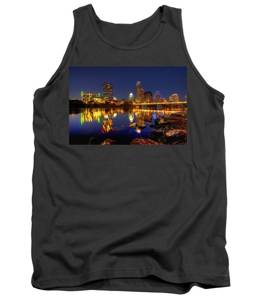 Austin On The Rocks Tank Top by Dave Files