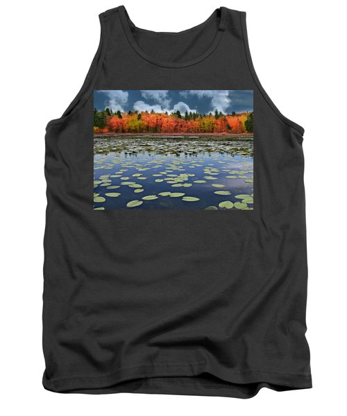Autumn Across The Pond Tank Top by Barbara S Nickerson