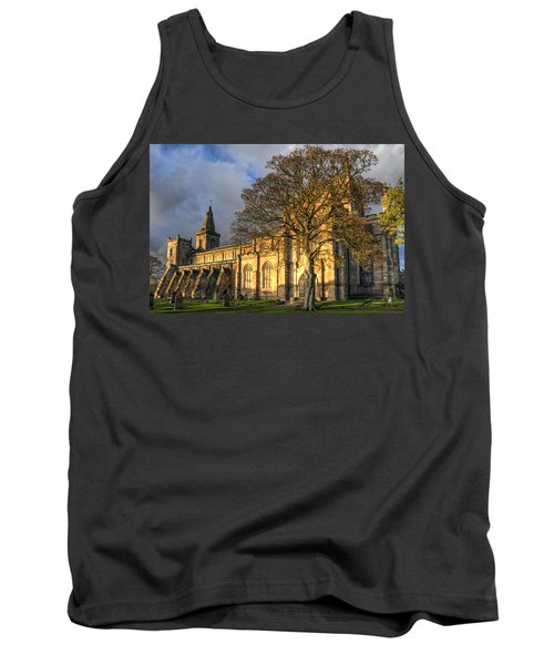 Autumn At Dunfermline Abbey Tank Top