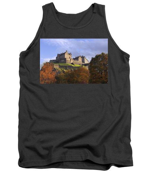 Autumn At Edinburgh Castle Tank Top