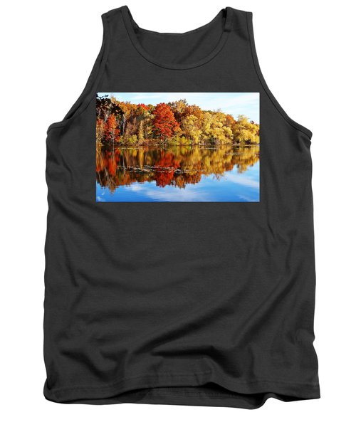 Autumn At Horn Pond Tank Top