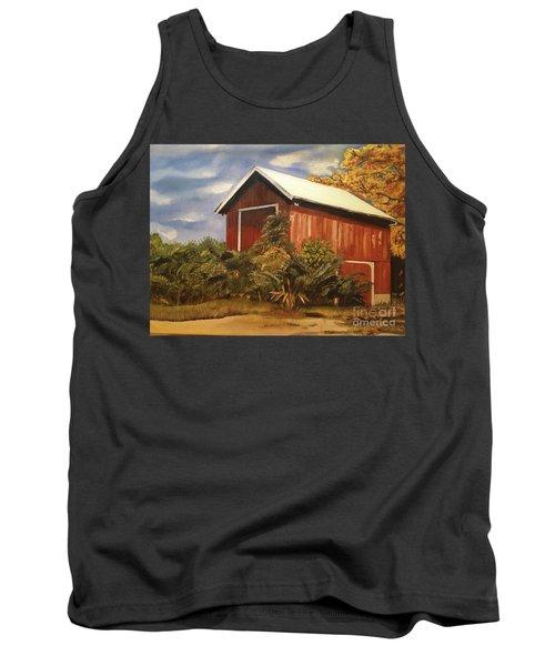 Autumn - Barn - Ohio Tank Top