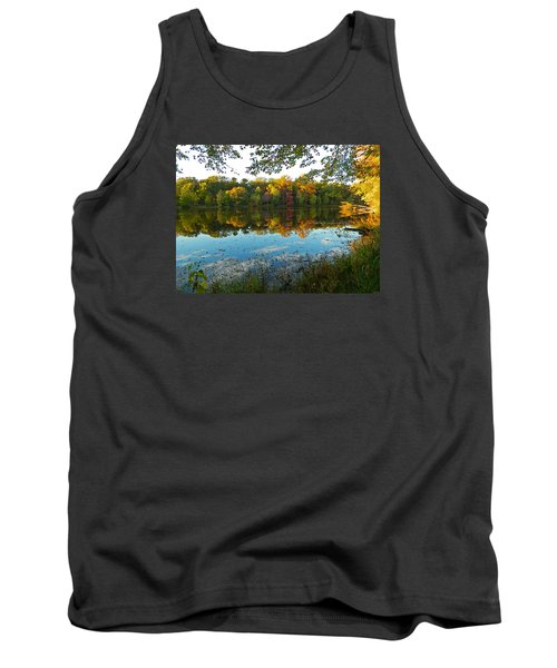 Autumn Beauty At Buddy Attics Lake Tank Top