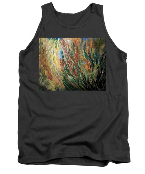 Autumn Bloom Tank Top
