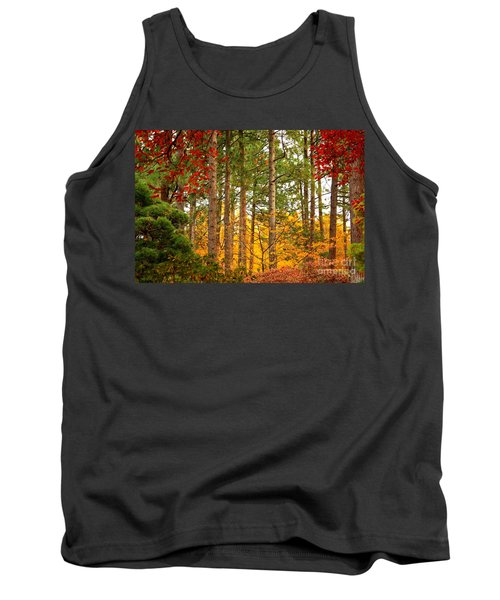 Autumn Canvas Tank Top