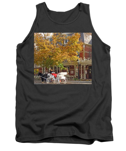 Autumn Carriage For Hire Tank Top