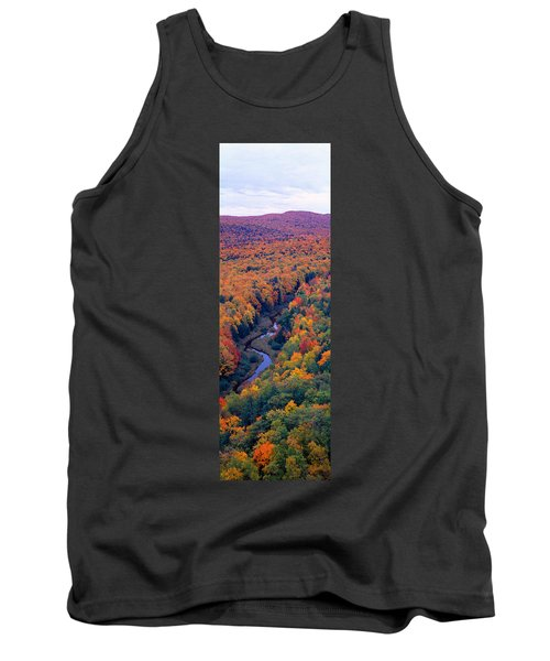 Autumn Color At Porcupine State Park Tank Top