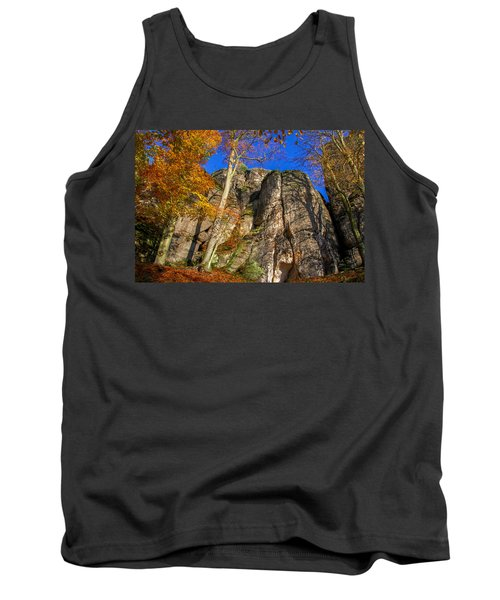 Autumn Colors In The Saxon Switzerland Tank Top