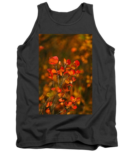 Tank Top featuring the photograph Autumn Emblem by Jeremy Rhoades