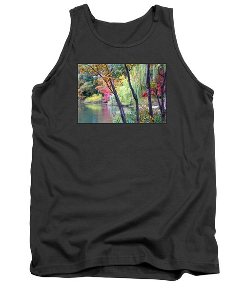 Autumn Fantasy Tank Top by Dora Sofia Caputo Photographic Art and Design