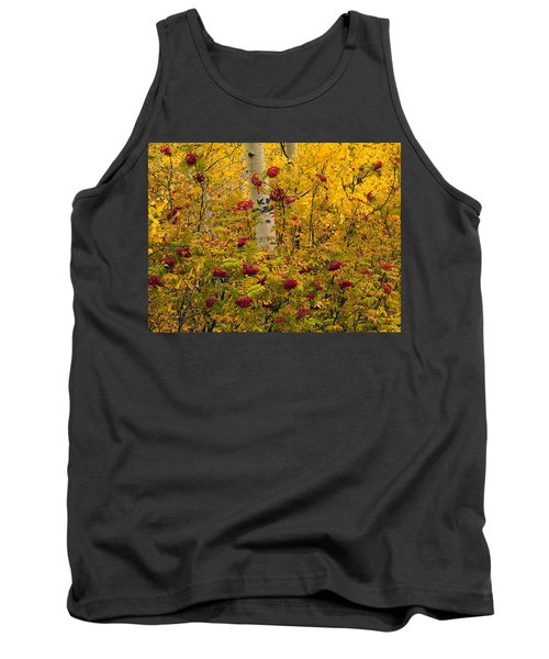 Autumn Forest Colors Tank Top