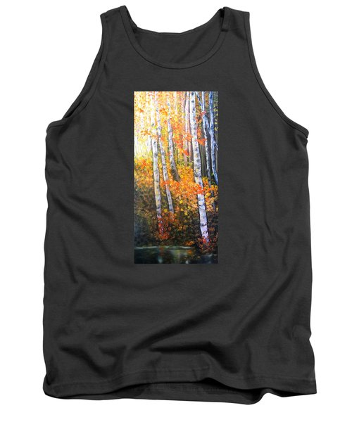 Autumn Glow Tank Top by Patti Gordon