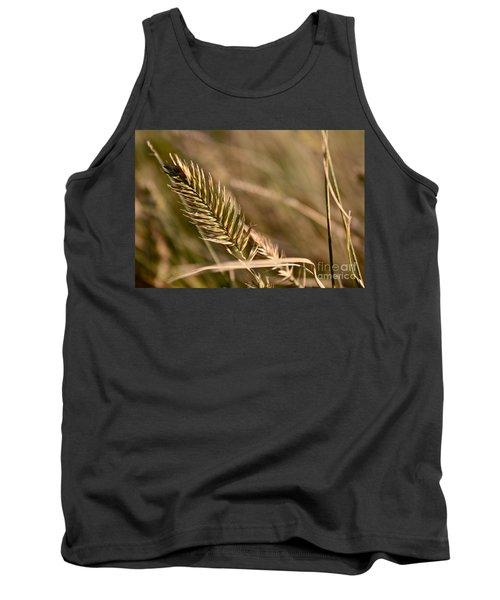 Autumn Grasses Tank Top