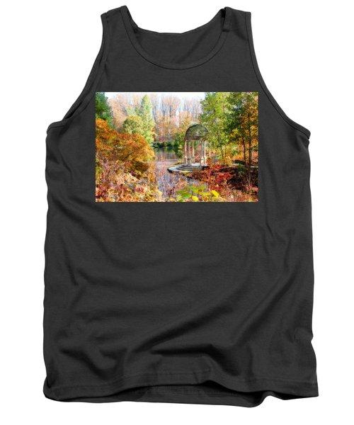 Autumn In Longwood Gardens Tank Top