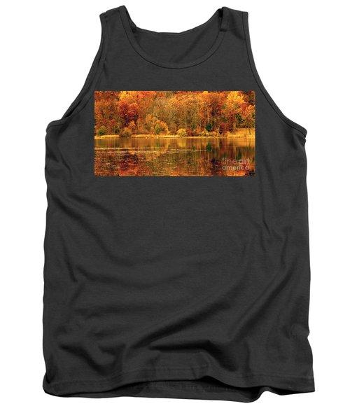 Autumn In Mirror Lake Tank Top