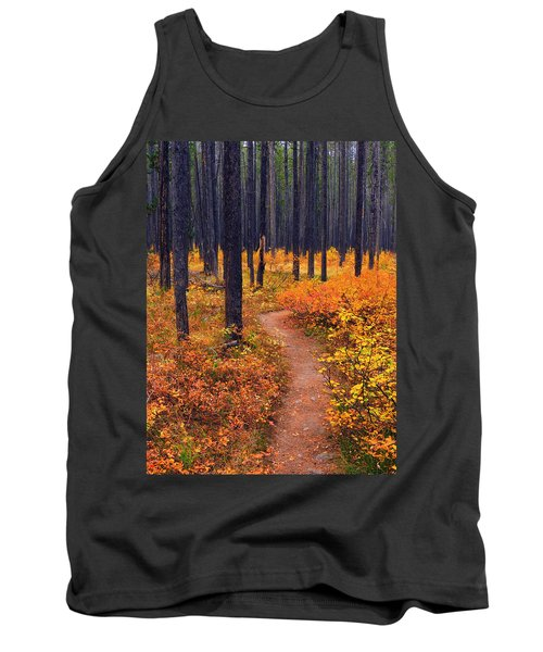 Tank Top featuring the photograph Autumn In Yellowstone by Raymond Salani III