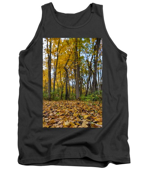 Tank Top featuring the photograph Autumn Is Here by Sebastian Musial