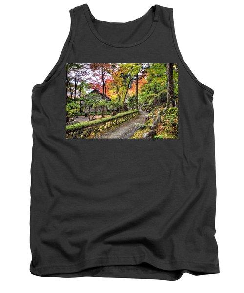 Autumn Walk Tank Top by John Swartz