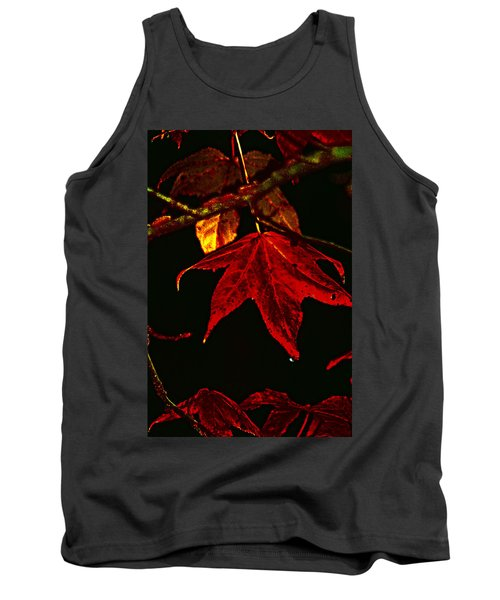 Tank Top featuring the photograph Autumn Leaves by Lesa Fine