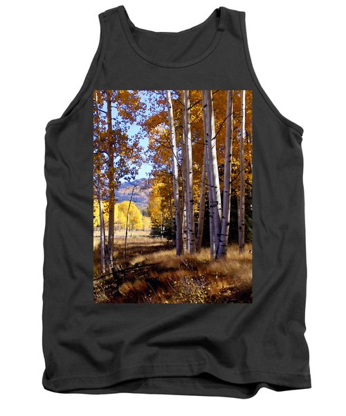 Autumn Paint Chama New Mexico Tank Top