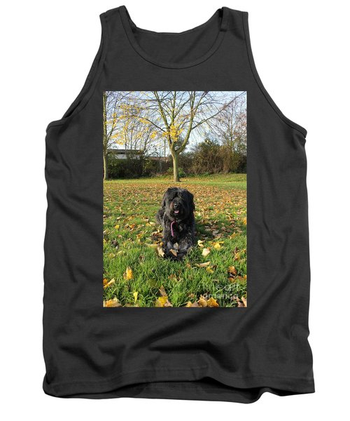 Tank Top featuring the photograph Autumn Portrait by Vicki Spindler