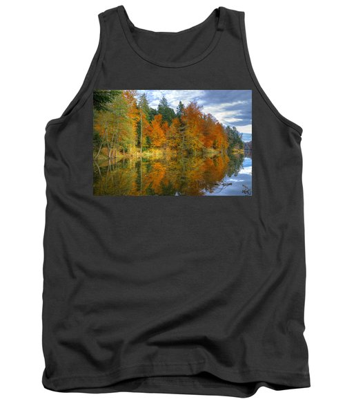 Autumn Reflection Tank Top