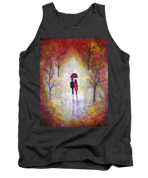Autumn Romance Tank Top