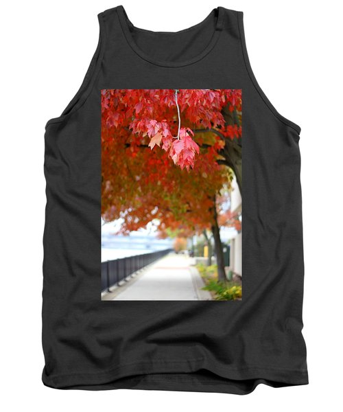 Autumn Sidewalk Tank Top