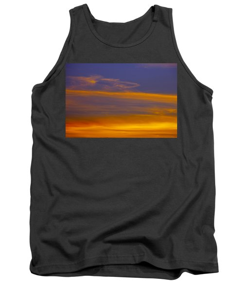 Autumn Sky Landscape Tank Top