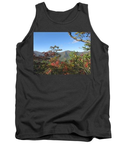 Autumn Smoky Mountains Tank Top by Melinda Fawver