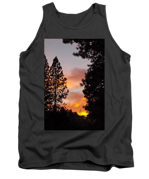 Autumn Sunset Tank Top by Michele Myers