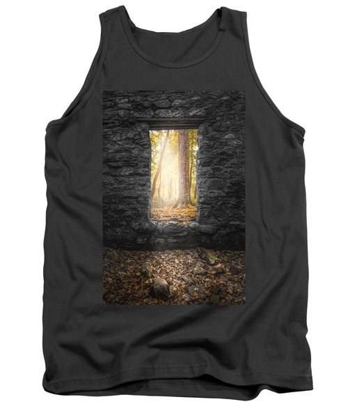 Autumn Within Long Pond Ironworks - Historical Ruins Tank Top