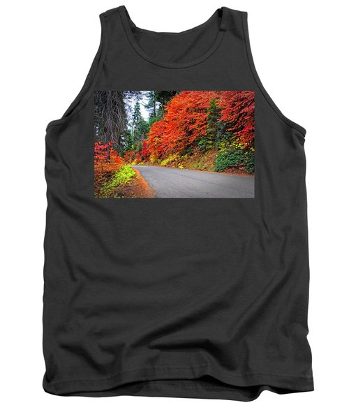 Autumn's Glory Tank Top by Lynn Bauer