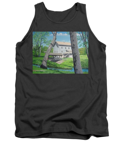 Award-winning Painting Of Beckman's Mill Tank Top