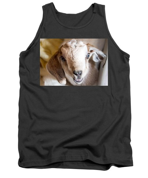 Baby Goat Face Tank Top
