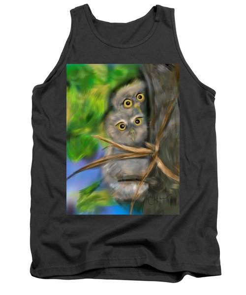 Baby Owls Tank Top
