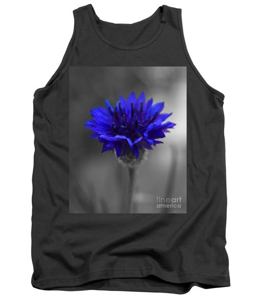 Bachelor's Button Tank Top