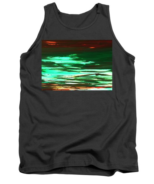 Back To Canvas The Landscape Of The Acid People Tank Top