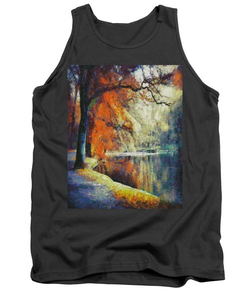 Tank Top featuring the painting Back To Our Dreams by Joe Misrasi