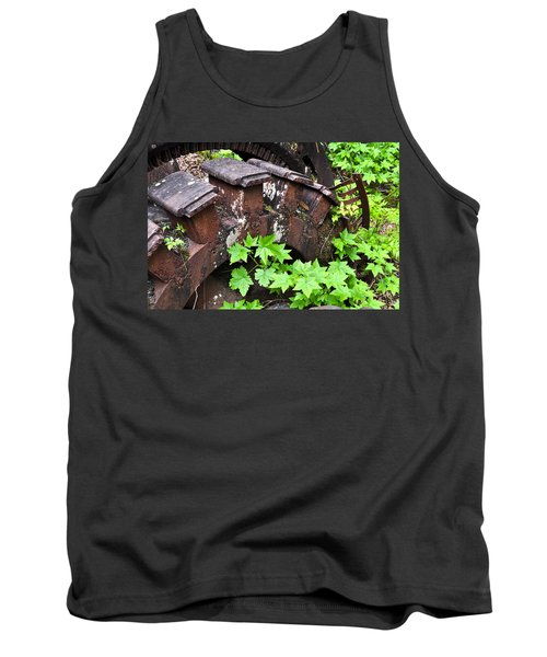 Tank Top featuring the photograph Back To The Forest by Cathy Mahnke
