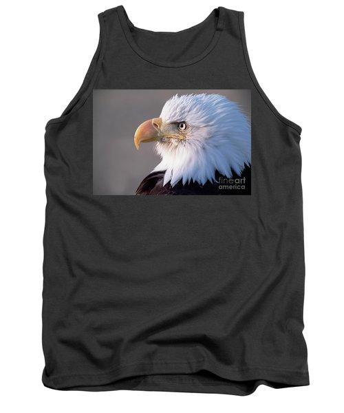 Bald Eagle Portrait Alaska Tank Top