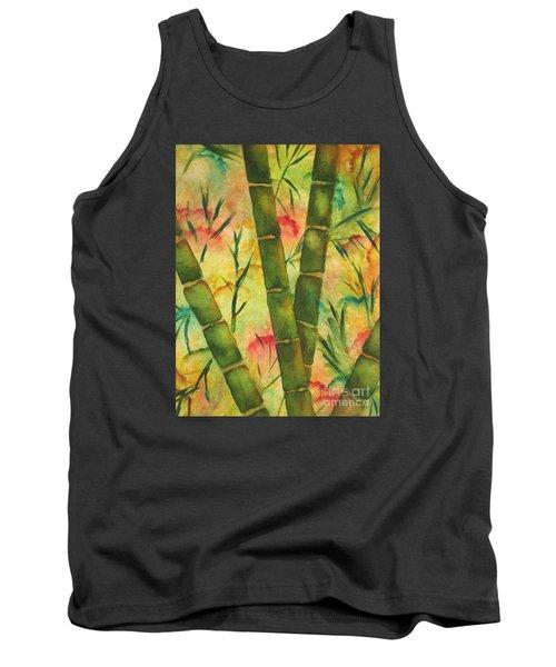Bamboo Garden Tank Top by Chrisann Ellis