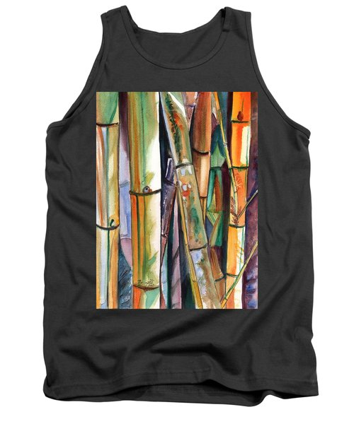 Bamboo Garden Tank Top by Marionette Taboniar