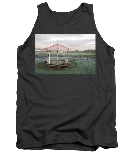 Bandstand In Winter Tank Top