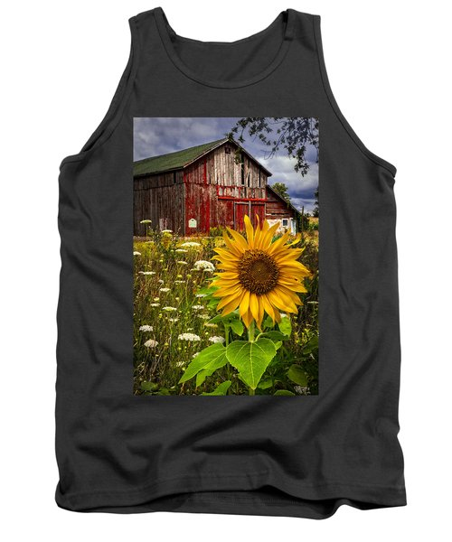 Barn Meadow Flowers Tank Top