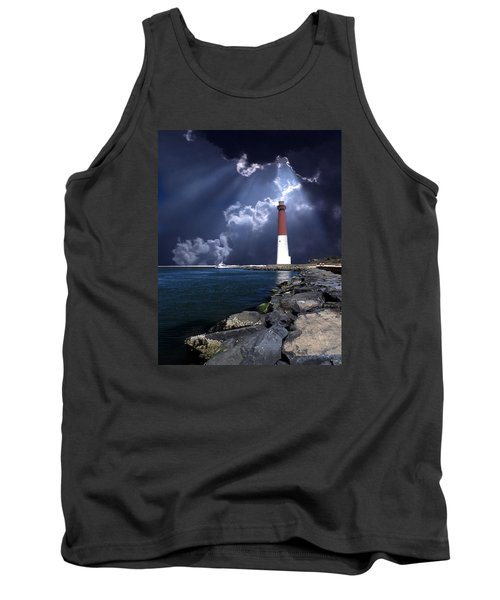 Barnegat Inlet Lighthouse Nj Tank Top