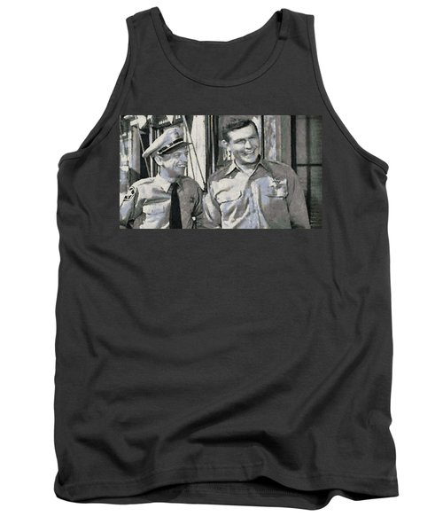 Barney Fife And Andy Taylor Tank Top