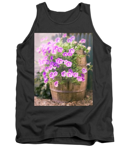 Barrel Of Flowers - Floral Arrangements Tank Top