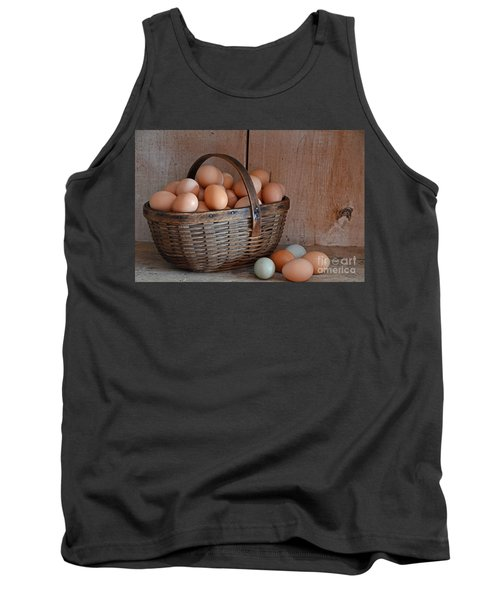 Basket Full Of Eggs Tank Top