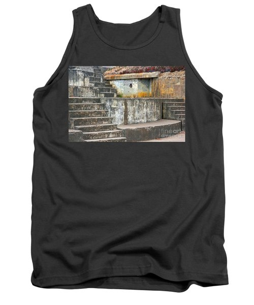 Tank Top featuring the photograph Battery Chamberlin by Kate Brown